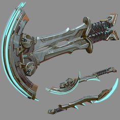 Scifi melee weapon