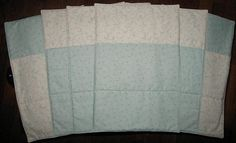 Sewing project for beginners 'Fabric Placemats'