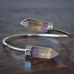 lux divine polished crystal wrap gemstone bracelet by luxdivine