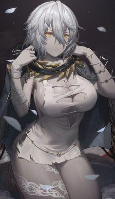 Cool Anime Girl, Anime Art Girl, Anime Girls, Yandere Anime, Manga Anime, Fantasy Characters, Anime Characters, Ktm Supermoto, Anime Warrior Girl