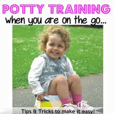 Awesome potty training tips!!
