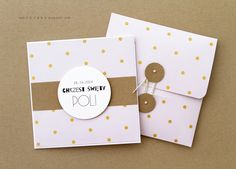 dots - 2 in 1 - card + envelope