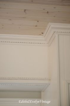 Stock Unfinished Cabinets from Home Depot with Decorative Moulding ...