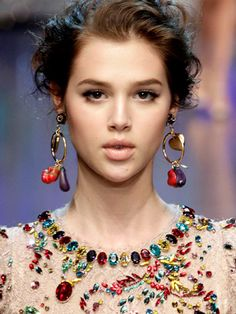 Makeup Perfection. Anais Pouliot. Dolce and Gabbana ss12.
