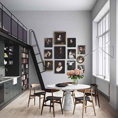 Regram from Est Magazine with this stunning Stockholm apartment featuring the CH33 chairs from Carl Hansen & Son ✔️@estmagazine @oscarproperties @carlhansenandson #carlhansen
