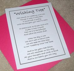Wishing+Tree+Tags++Instructions+Sign++Customize+For+by+paperpixie,+$6.00