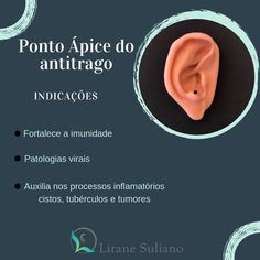 3 principais indicações do ponto ápice do antitrago 👂🏼 #auriculoterapia #acupunturaauricular #auriculoterapeuta #auriculoterapiadesucesso…