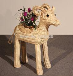 Rattan crafts ornaments Sheep
