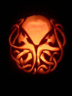 Cthulu pumpkin