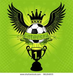 Soccer Poster Soccer Balls with Wings, Crown and Cup, vector illustration Created: GraphicsFilesIncluded: JPGImage Layered: Yes MinimumAdobeCSVersion: CS Tags: action Soccer Theme, Soccer Art, Soccer Logo, Soccer Poster, Intense Games, Football Wallpaper, Vector Art, Vector Stock, Graphic Art