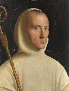 'Saint Hugh' attributed to Mansueti about 1525-1600.