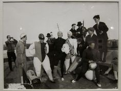 Nobody Did Costume Parties Like the Bauhaus