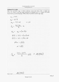 - Matua 2015 PP (stara) rozwiązania 07 Notes, Study, Tech, Math Equations, Journal, Learning, School, Professor, Report Cards