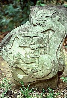 Olmec figures, Villahermosa-Mèxico