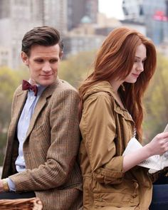 Doctor Who - Amy Pond and her Raggedy Man