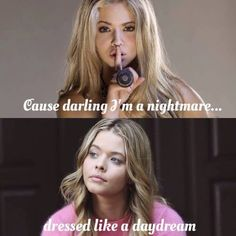 Sasha Pieterse as Alison DiLaurentis. Pretty Little Liars. Season 6/B: 12th January, 2016.