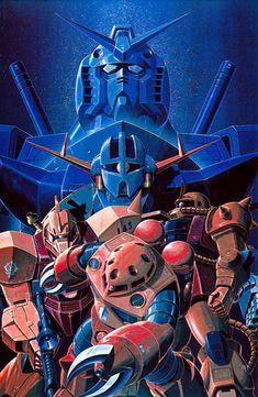 Post with 49 votes and 3767 views. Shared by SmoothJazzRayner. Gundam 0078 paintings by Yasuhiko & Takani. Samurai, Japanese Robot, Zeta Gundam, Gundam Wallpapers, Gundam Mobile Suit, Gundam Art, Mecha Anime, Super Robot, Funny Tattoos