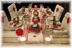table noel traditionnel