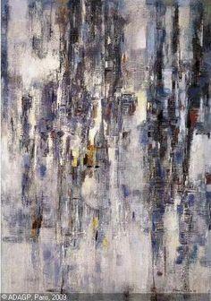 Maria Helena Vieira da Silva Nadir Afonso, Abstract Expressionism, Abstract Art, Robert Motherwell, Art Abstrait, Love Art, Painting Inspiration, Amazing Art, Sculpture