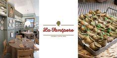 La Santpere es la representación de la mejor cocina catalana en Madrid. La esencia de su recetario y sus productos tradicionales.