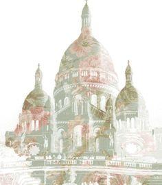 Paris by Hannah Player, via Behance Taj Mahal, Behance, Paris, Building, Illustration, Photography, Travel, Montmartre Paris, Photograph