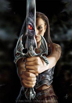 Anne Stokes gothic fantasy artwork