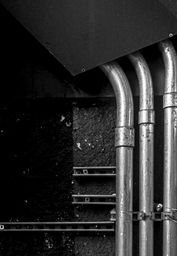 Industrial Abstract - photograph by James Aiken  #jamesaiken #abstractart #industrialart #wallart