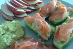 Fast Paleo » Cucumber Boats with Salmon - Paleo Recipe Sharing Site
