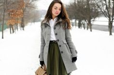 Fashion; This style coat is a must for every woman I think, I have one in every color I think, its so flattering, tight waist then a bit of a flair, even when your cold fashionably styled, its so much fun to be a woman!~RP~