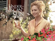 Under the Tuscan Sun - Diane Lane. This was an excellent movie as well as a great read. Diane Lane, Sun Movies, Great Movies, Movies And Series, Movies And Tv Shows, Tv Series, Lindsay Duncan, Under The Tuscan Sun, Star Wars