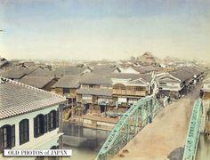 OLD PHOTOS of JAPAN: 心斎橋 1890年代の大阪