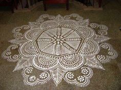 Manai kolam for a wedding