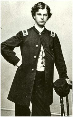 Arthur Macarthur was a brave teenaged officer in the Civil War. He won the Medal of Honor at 18, and was a Lt. Col by the age of 19. Years later his son, Douglas MacArthur, would also win the Medal of Honor - making them one of only two Father-Son recipients of the Medal of Honor. history