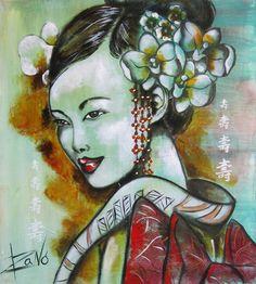 Isabelle Sauvineau 1965 ~ Pop Art painter   Tutt'Art@   Pittura * Scultura * Poesia * Musica  