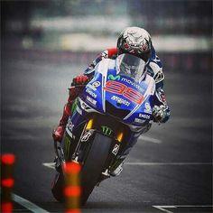 Jorge Lorenzo at Indy.