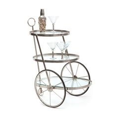 Dapper Bar Cart   dotandbo.com