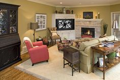 Corner Fireplace Design, Pictures, Remodel, Decor and Ideas - page 6