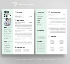 EXPRESS YOURSELF ♦ ◦◦◦◦◦◦◦ Your resume should reflect your personality. Imagine to have fully editable resume template which presents you in creative, modern and professional way. Resume template which can help You stand out from the crowd.   WHAT YOU WILL GET? ♦ ◦◦◦◦◦◦◦ 1. 2-page Resume template 2. Matching Cover letter 3. Matching Reference page 4. Free business cards (fully editable psd file) 5. Step-by-step instruction (how to start in 4 easy steps) 6. Template guide (FAQ + MS Word tips…