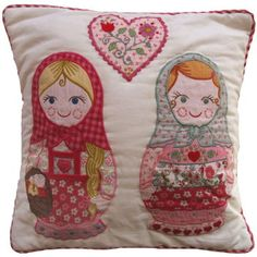 matryoshka cushion