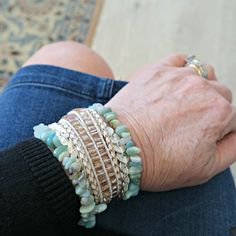 Victoria Emerson bracelet on Jennifer Connolly of A Well Styled Life