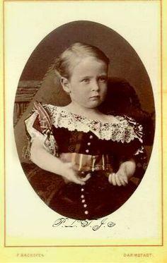 Prince Friedrich de Hesse, fils de la princesse Alice et du grand-duc Louis