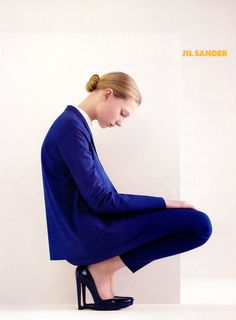 Johanna Jonsson by Willy Vanderperre for Jil Sander, Spring/Summer 2007  - clean cut, clear