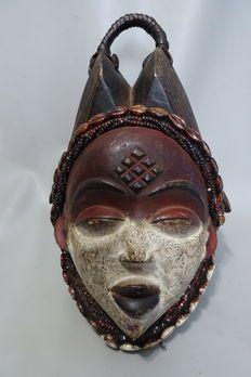 Afrikaans vrouwelijk Okuyi masker - PUNU - Gabon