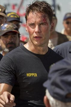 Taylor Kitch - Hopper in Battleship - Sexiest man alive!