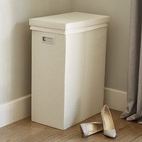 Linen Poppin Laundry Hamper with Lid