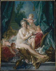 François Boucher (French, 1703–1770). The Toilette of Venus, 1751.