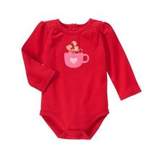 Baby Holly Red Mouse Bodysuit by Gymboree