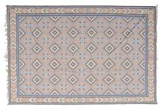 "One Kings Lane - Stark: Modern Classics - 11'2""x16'2"" Fin Flat-Weave Rug, Multi"