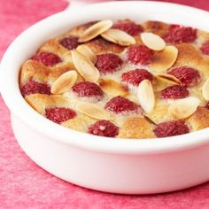A delightful cherry clafoutis tart as featured in the second series of Baking Mad with Eric Lanlard on Channel Clafoutis Recipes, Cherry Clafoutis, Strawberry Topping, French Patisserie, Fritters, Fresh Fruit, Family Meals, Dog Food Recipes, Tart