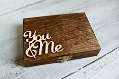 How To Bride: DIY- Ring Bearer Box